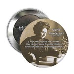"Maria Montessori Education 2.25"" Button (10 pack)"