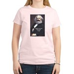 Karl Marx Religion Opiate Masses Women's Pink T-Sh
