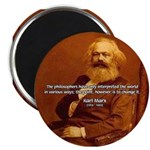 "Power of Change Karl Marx 2.25"" Magnet (100 pack)"
