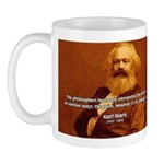 Power of Change Karl Marx Mug