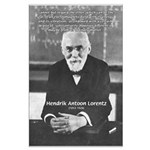 Nobel Prize Physics Lorentz Large Poster