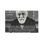 Nobel Prize Physics Lorentz Rectangle Magnet (10 p