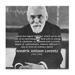 Nobel Prize Physics Lorentz Tile Coaster