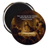 "Christianity: Truth / Myth 2.25"" Magnet (10 pack)"