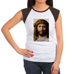 Jesus Peace and Love Women's Cap Sleeve T-Shirt