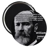 "Pragmatic William James 2.25"" Magnet (100 pack)"