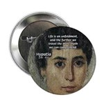 "Wisdom of Greece: Hypatia 2.25"" Button (10 pack)"