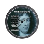 Huygens Combination Wall Clock