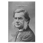 Thomas Huxley and Darwin Large Poster