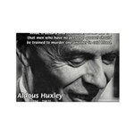 Humanist Aldous Huxley Rectangle Magnet (10 pack)