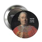 "Christianity and David Hume 2.25"" Button (100 pack"