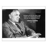 Exploration: Edwin Hubble Small Poster