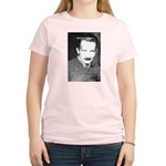 Man / Language: Heidegger Women's Pink T-Shirt