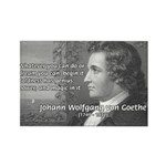 Power of Dreams: Goethe Rectangle Magnet (10 pack)