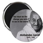 Loyalty to Cause: Gandhi Magnet