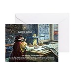 Stubborn Resistance Galileo Greeting Cards (Packag