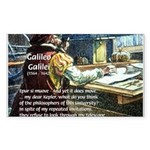 Stubborn Resistance Galileo Rectangle Sticker