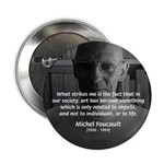 "Social Criticism: Foucault 2.25"" Button (100 pack)"