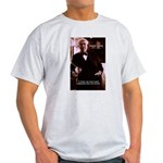 Imagination Thomas Edison Ash Grey T-Shirt