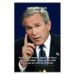 Terrorism George W. Bush Large Poster
