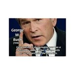 Terrorism George W. Bush Rectangle Magnet (10 pack