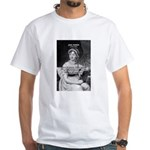 Women in History Jane Austen White T-Shirt