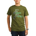 Future Frog Organic Men's T-Shirt (dark)
