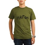 Phantom Halloween Organic Men's T-Shirt (dark)