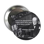 "World War II Churchill 2.25"" Button (10 pack)"