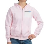 Something Blue Bride Women's Zip Hoodie