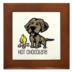 Hot Chocolate Framed Tile