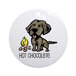 Hot Chocolate Ornament (Round)