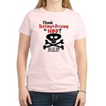 Anti Texting & Driving Women's Light T-Shirt
