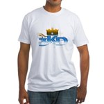3 Kings Day Fitted T-Shirt