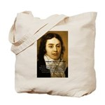 Samuel Taylor Coleridge Poet Tote Bag