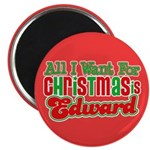 Christmas Edward Magnet
