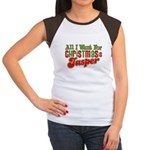 Christmas Jasper Women's Cap Sleeve T-Shirt
