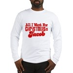 Christmas Jacob Long Sleeve T-Shirt