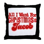 Christmas Jacob Throw Pillow