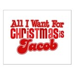 Christmas Jacob Small Poster
