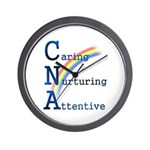 CNA Rainbow Wall Clock