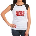 Carlisle Valentine Women's Cap Sleeve T-Shirt