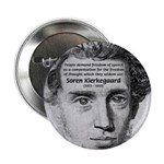 "Irony Freedom of Speech 2.25"" Button (100 pack)"