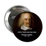 "Thomas Hobbes Truth 2.25"" Button (10 pack)"