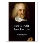 Thomas Hobbes Truth Small Poster