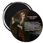 "Isaac Newton Laws Motion 2.25"" Magnet (10 pack)"