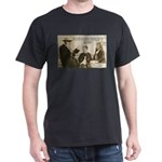 Leo Tolstoy God Life Quotes Black T-Shirt