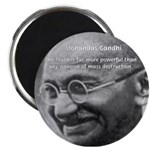 "Power of Truth Gandhi 2.25"" Magnet (10 pack)"