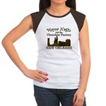 Mayor Nagin Chocolate Factory Women's Cap Sleeve T