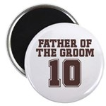 Uniform Groom Father 10 Magnet